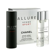 CHANEL ALLURE HOMME SPORT EDT20ml×3本セット スプレイ