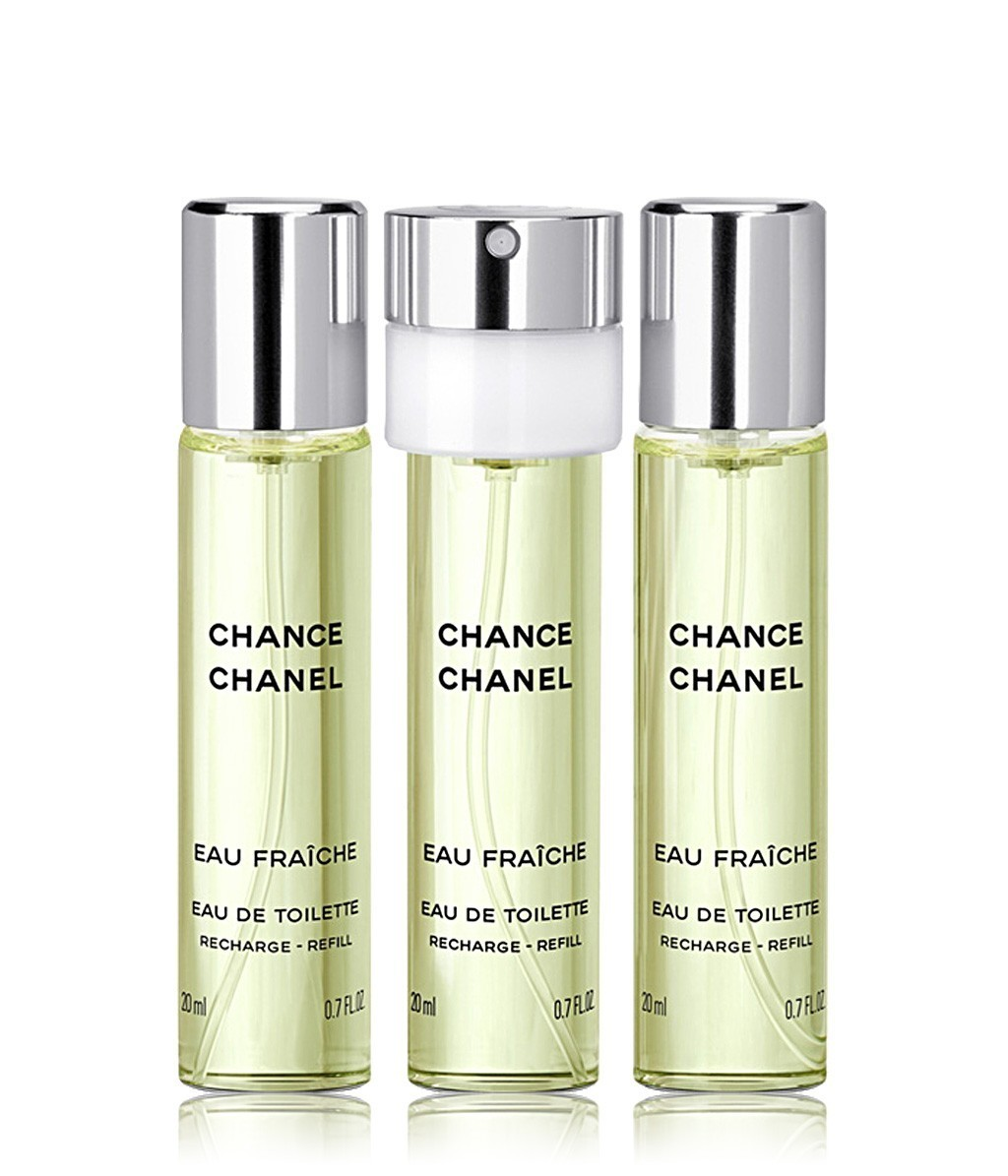 CHANEL CHANCE EAU FRAICHE TWIST  SPRAY EDT20ml×3