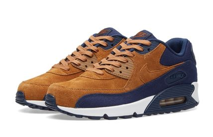 Nike Air Max 90 Premium - Brown x Navy