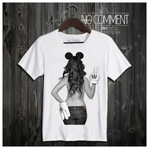 ●関税/送料込み●NO COMMENT PARIS *MICKEY GIRL Tシャツ*