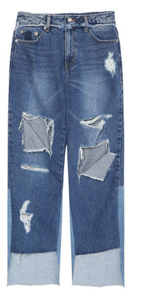 ★SJYP正規品★EMS無料発送★Front cut destroyed jeans