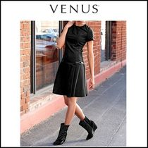 Venus*BUCKLE DETAIL DRESS