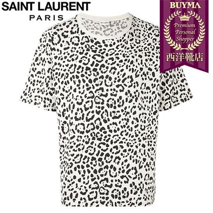 16/17秋冬入荷!┃SAINT LAURENT┃CHEETAH PRINT T-SHIRT