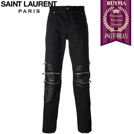 16/17秋冬入荷!┃SAINT LAURENT┃ SKINNY MOTOCROSS JEANS