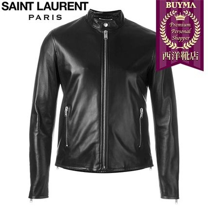16/17秋冬入荷!┃SAINT LAURENT┃LEATHER JACKET ┃11572879