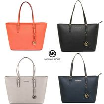 即発★MICHAEL KORS★希少JET SET TRAVEL T Z TOTE 4カラー有