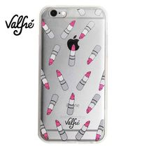 即発Valfre3D iPhone 6/6S対応 透明カバー Pucker Up