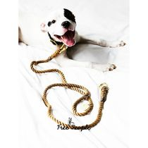 Free People(フリーピープル) ペット関連その他 【Free People】Natural Rope Leash