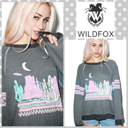 *Wildfox Couture*ヴィンテージ風☆パステルネオントレーナー☆