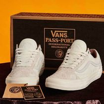 VANS VANS X PASS PORT OLD SKOOL PRO ホワイト パスポート 限定