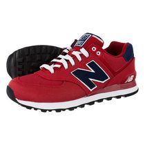 【New Balance】ML574POR★Pique Polo Pack レッド