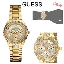 GUESS 限定セール☆人気ゴールドトーンキラキラ腕時計