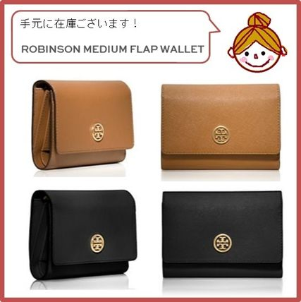 【Tory Burch】ROBINSON MEDIUM FLAP WALLET★2色