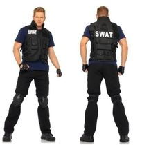 ハロウィン☆SWAT TEAM COSTUME (ONE SIZE)