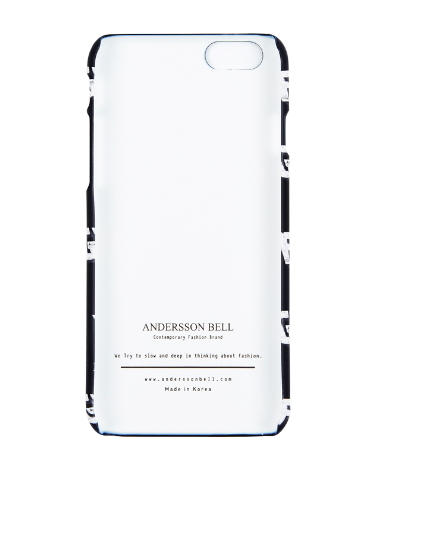 ★ANDERSSON BELL★Andersson iPhone Case -BLACK FUDGE 6/6+