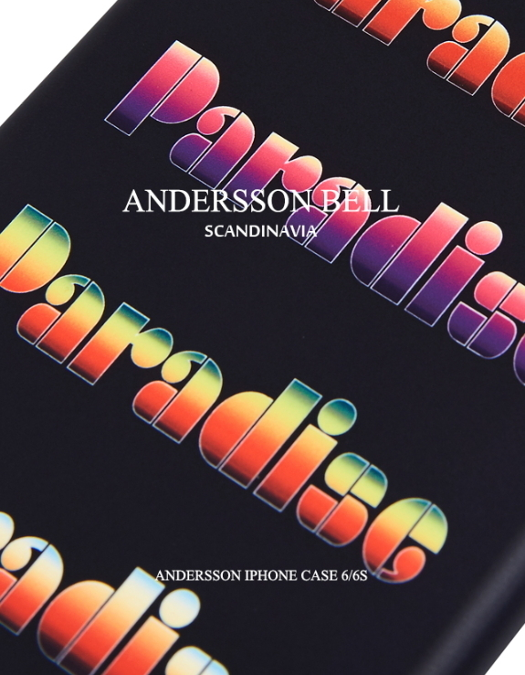 ★ANDERSSON BELL★Andersson iPhone Case -BLACK PARADISE 6/6+