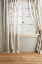 "SALE ""ANTHROPOLOGIE"" Glinting Pintuck Curtain"