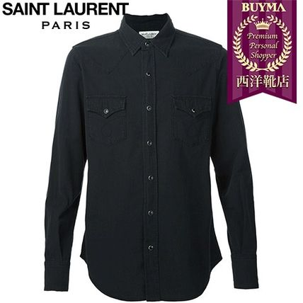 16/17秋冬入荷!┃SAINT LAURENT┃CLASSIC DENIM SHIRT