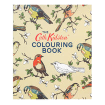 【Cath Kidston】歴代プリントが楽しめる!  大人の塗り絵BOOK