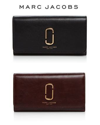 NEW!2色のJ, Marc Leather Continental☆MARC JACOBS