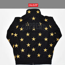 MサイズFW2016 Supreme シュプリーム STARS ZIP STADIUM JACKET