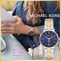 【新作☆人気】Michael Kors JARYN Two-Tone ウォッチ MK3523