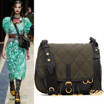 PR119 LOOK20 CORSAIRE BAG IN QUILTED NYLON AND LEATHER