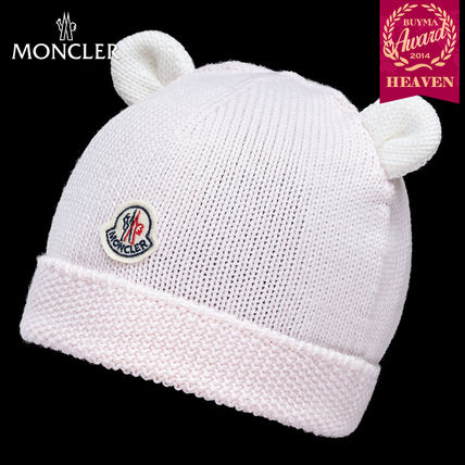 TOPセラー賞受賞!16/17秋冬┃MONCLER_0-36か月★HAT|ピンク