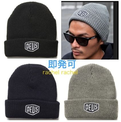 """Hand and allowed"" Deus Ron Herman handled / knit hat"
