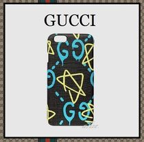 【2016-17AW最新作!!】GUCCI Ghost ★ iPhone 6/6s ケース