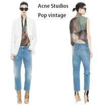 ACNE Pop light Vintage Cropped jeans ライトヴィンテージ