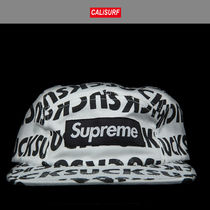 FW2016 Supreme シュプリーム SUCK CAMP CAP WHITE