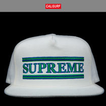 FW2016 Supreme シュプリーム TRIPED 5 PANEL CAMP CAP WHITE