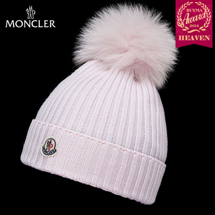 TOPセラー賞!16/17秋冬┃MONCLER_8-10歳★HAT┃ライトピンク