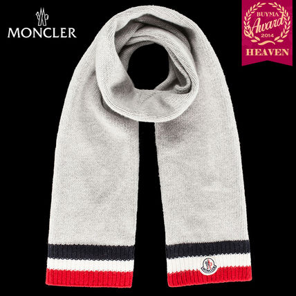 TOPセラー賞受賞!16/17秋冬┃MONCLER_8-10歳★SCARF┃グレー