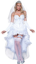 ハロウィン☆BLUSHING BRIDE COSTUME  (XS)