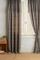 """SALE """"ANTHROPOLOGIE"""" Ikat Blossom Curtain"""