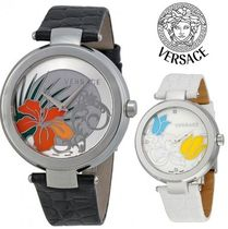 ☆セール☆ヴェルサーチ Mystique Floral Enamel Watch