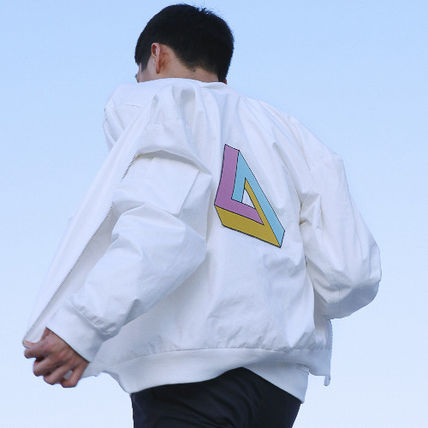 (ATAR) ☆ triangle blouson jacket MA-1 ☆