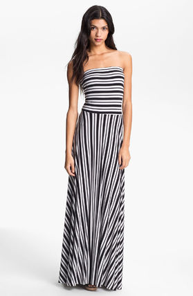 Felicity & Coco☆Stripe Strapless Maxi Dress (Nordst関税込☆