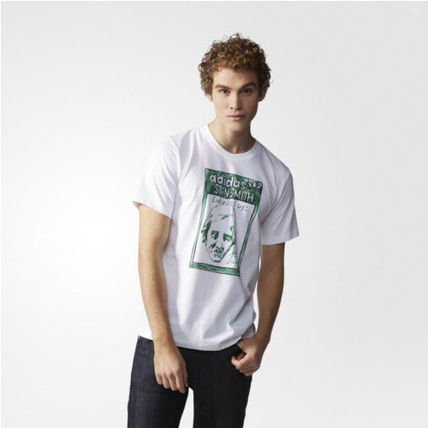 adidas Tシャツ・カットソー ★adidas★ARTIST STAN SMITH TONGUE LABEL TEE(7)