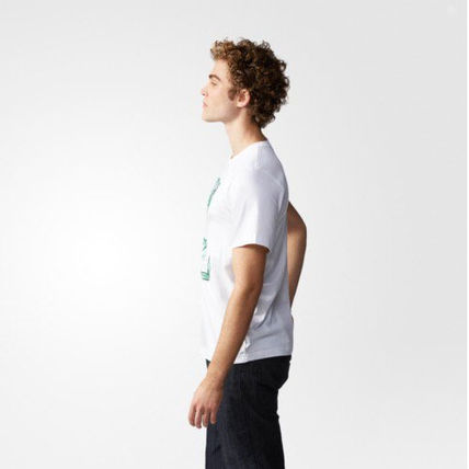 adidas Tシャツ・カットソー ★adidas★ARTIST STAN SMITH TONGUE LABEL TEE(8)