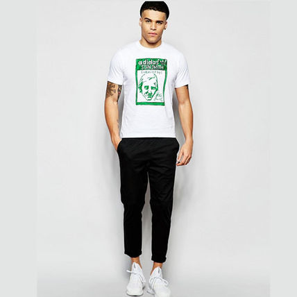 adidas Tシャツ・カットソー ★adidas★ARTIST STAN SMITH TONGUE LABEL TEE(9)