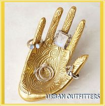 Urban Outfitters(アーバンアウトフィッターズ) インテリア雑貨・DIYその他 ゆうパック追跡付! ★Urban Outfitters★ GOLDジュエリートレイ