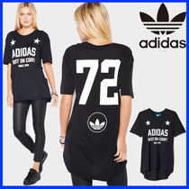 ★adidas★ 72 GRAPHIC TEE BLACK ロングT−シャツ