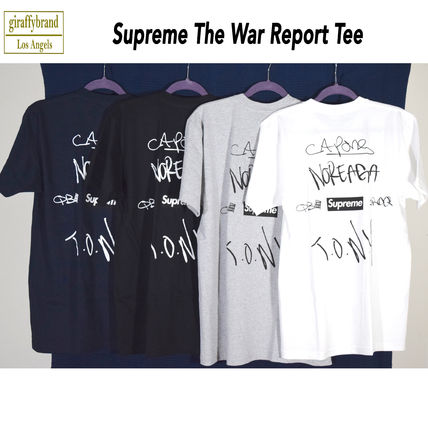 16AW Supreme (シュプリーム) THE WAR REPORT TEE BOX LOGO 正規