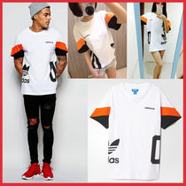 ★adidas★  COLOR BLOCK T-S WHITE(Unisex)