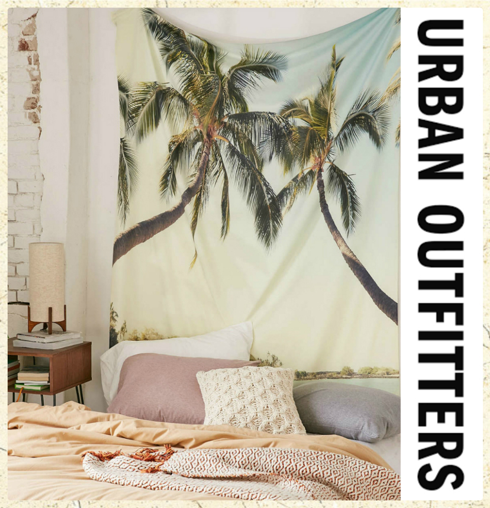 *Urban Outfitters*リゾート柄タペストリー