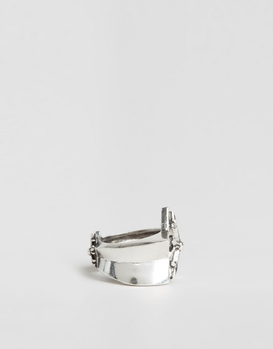 ASOS◆Reclaimed Vintage ダブルスターリング in Silver・送料込