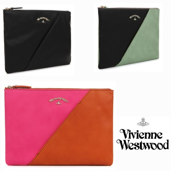 ☆Vivienne Westwood☆ しぶや クラッチバッグ  /3色
